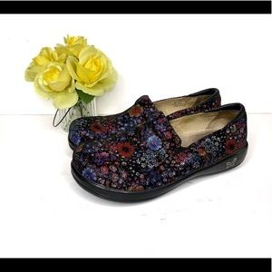 ALEGRIA KELI PRO LOAFERS MIDNIGHT GARDEN
